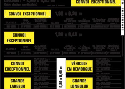 convoi exceptionnel 1 400x284 - Signalisation