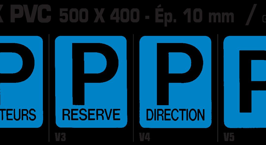 Circulation industrielle – Panneaux PVC